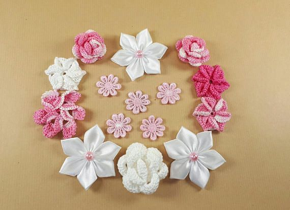 Shabby Chic creative kit pink sewing supplies Shabby Chic