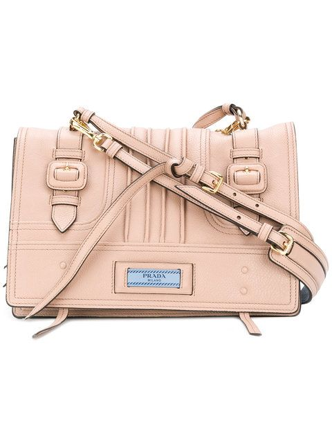 d207645ce7503b Shop Prada Etiquette shoulder bag in Cammeo | Handbags | Prada bag ...