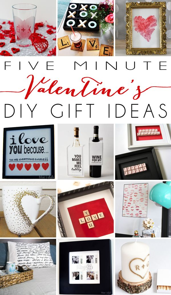 five minute friday gifts your valentine will love - Valentine Ideas For Your Boyfriend