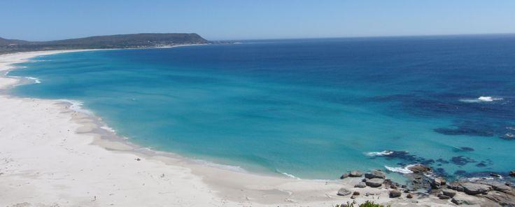 Noordhoek Beach, Cape Town in summer