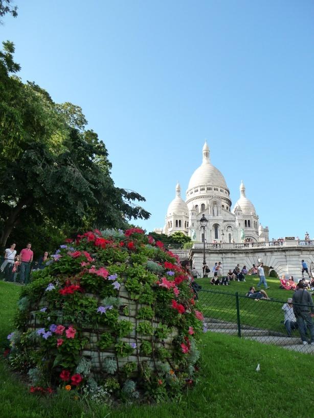 Basilique du Sacré Coeur de Montmartre, Paris 18e (75), juillet 2012, photo Alain Delavie  http://www.pariscotejardin.fr/2012/08/paris-en-photo-la-basilique-du-sacre-coeur-de-montmartre-paris-18e/