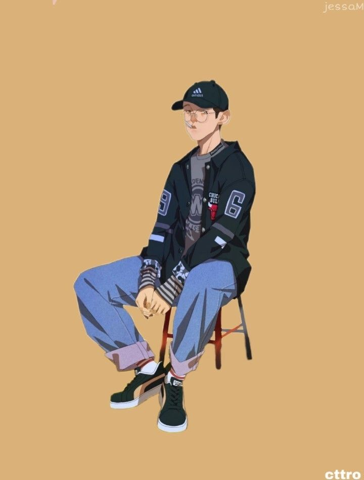 pin by 마시 호 on dream outfit man illustration korean art anime animals