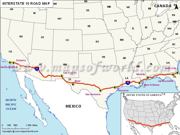 Free USA Interstate Highways Map Interstate Highways Map Of USA