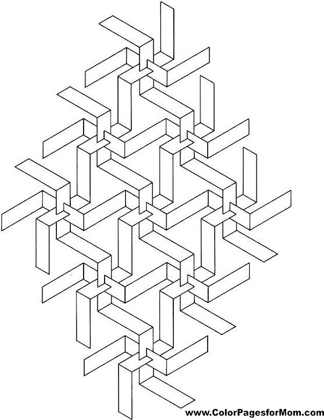 Geometric Coloring Pages Advanced : Best images about coloring board perfect on pinterest