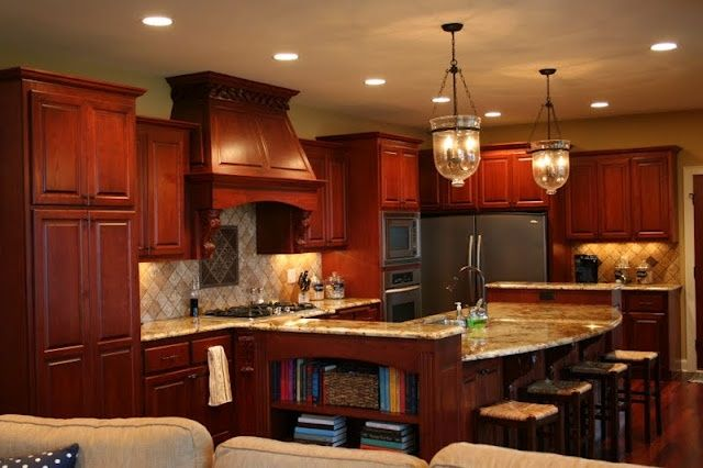 1000 Images About Dream House Kitchen Ideas On Pinterest Countertops, Cabinets And Island photo - 1