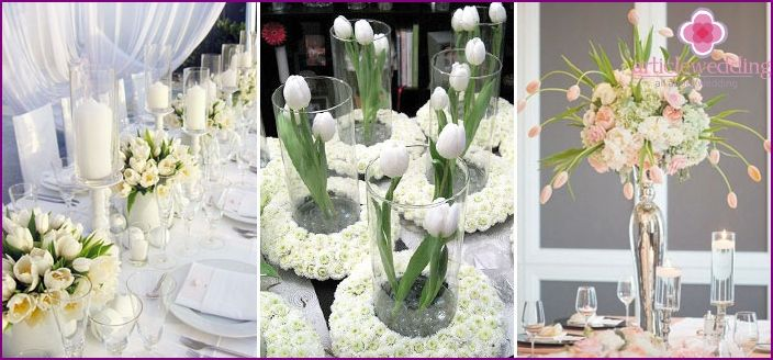 Tulipán svadba - nápady, obraz nevesty a ženícha, foto
