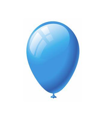 Palloncini Lattice Azzurro Perlato
