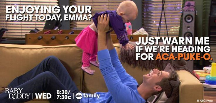 """S3 Ep7 """"The Bet"""" - Fly Baby Emma, fly!!!!!!!!!!!!!!!!!!!!!!!! #BabyDaddy"""