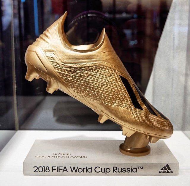 The 2018 Fifa World Cup Golden Boot Worldcup Russia2018 Worldcup2018 Fifa Kick Shoot Goals Zapatos De Futbol Club De Futbol Monterrey Adidas Futbol