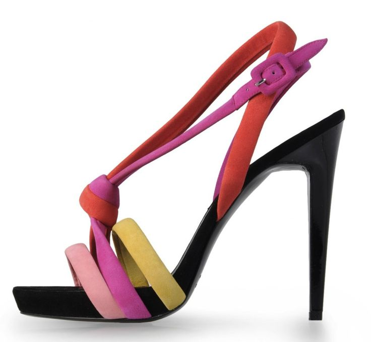 Pierre Hardy Multicolor Sandal $830 Spring Summer 2012 #Shoes #Heels