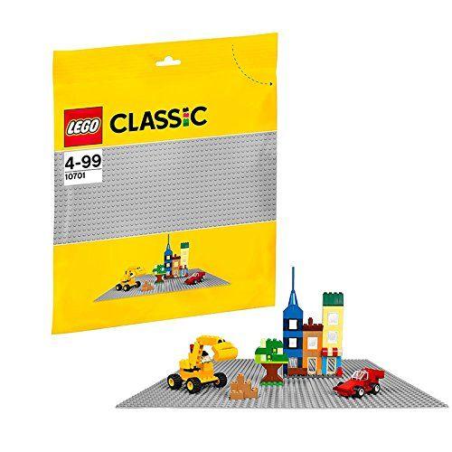 Lego Classic: Grey Coloured Baseplate (10701)  Manufacturer: LEGO Enarxis Code: 014770 #toys #Lego #classic #baseplate