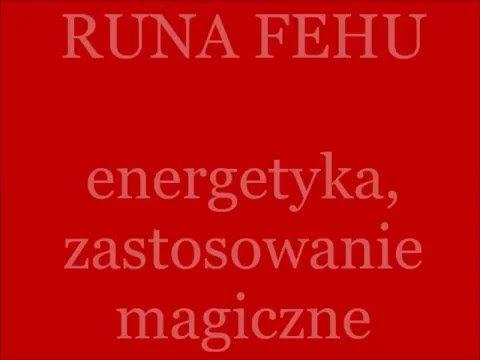 Runy: Runa Fehu magicznie i nie tylko         #fehu #runa #runy