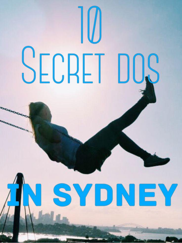 10 recht unbekannte Plätze, die man in Sydney besuchen sollte