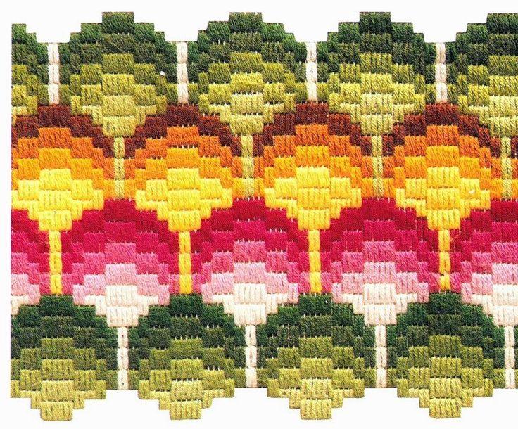 Милые сердцу штучки: Техники вышивания. Часть 10: барджелло