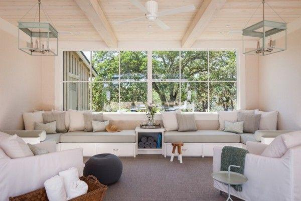weiße beige dekokissen ideen wohnzimmer einrichten Dekoration - deko einrichtung ideen beige