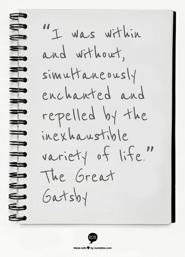 The Great Gatsby #quotes