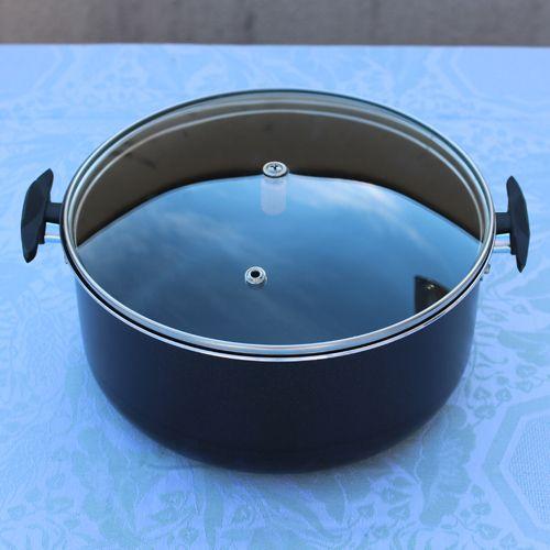 Faitout du kit de cuisson livré avec le four solaire Photon