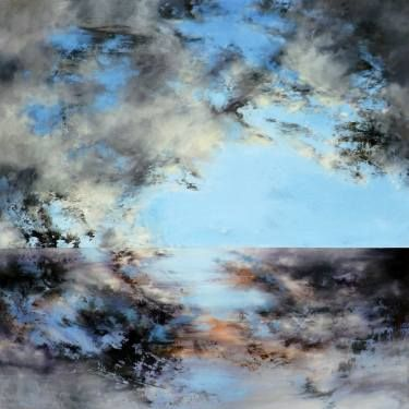 "Saatchi Art Artist Marjan Fahimi; Painting, ""Say hello 2 Heaven"" #art"