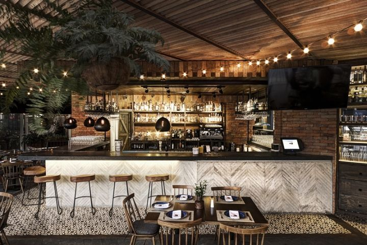 La Bottega - La Bottega Trattoria is a stylish Geneva restaurant fusing elegant minimalism and classic Italian cooking. Designed by Sestini & Corti, the eat...