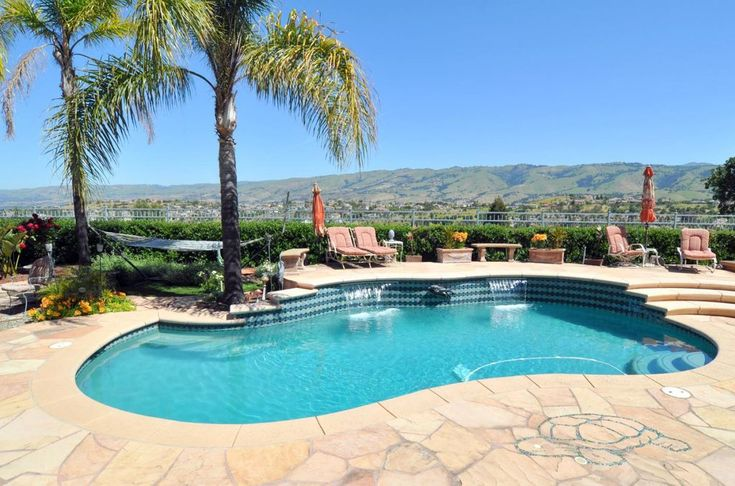 For sale: $2,998,000. This beautiful custom estate on one of SCVCC's most prestigious streets has incredible panoramic views to the mountains & city lights. One of the most spacious & usable back yards in the entire Club features pool, spa, large trellis structure with built-in BBQ, fire pit, extensive stone patios & children's play equipment area. The graceful interior is beautifully finished with marble & hardwood flooring, granite slab counter tips in the gourmet ki...