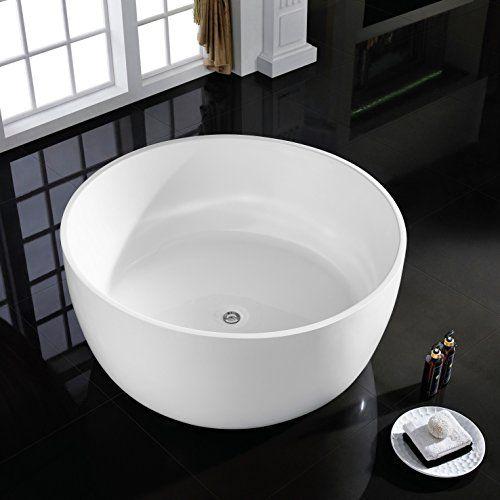 MAYKKE Vale 53 Inches Modern Round Acrylic Bathtub Freest... https://www.amazon.com/dp/B01CYWGGCM/ref=cm_sw_r_pi_dp_x_HqBTybJDP2JGX