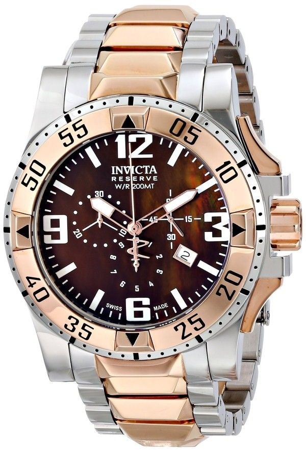 Gold watches : Gold watches men Invicta
