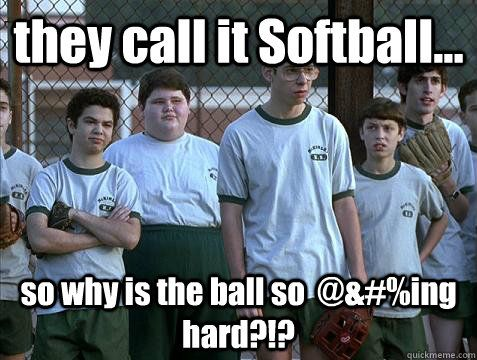 intramural softball memes | quickmeme