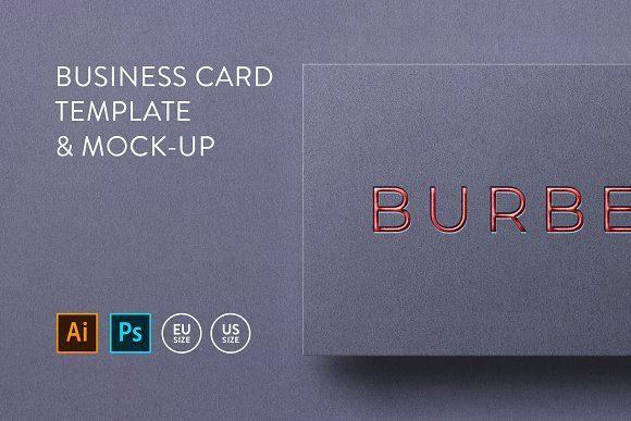 Business Card Template Mock Up Business Card Template Business Card Template Design Business Cards Creative Templates