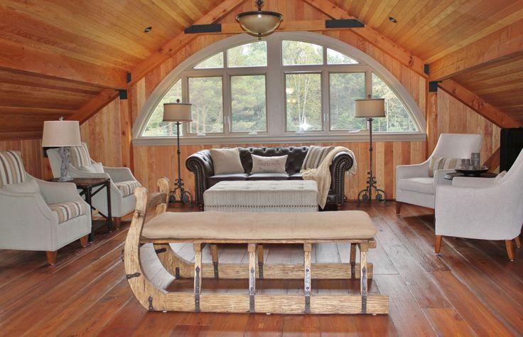 Rustic retreat in your own backyard