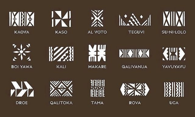 Fijian tattoo designs