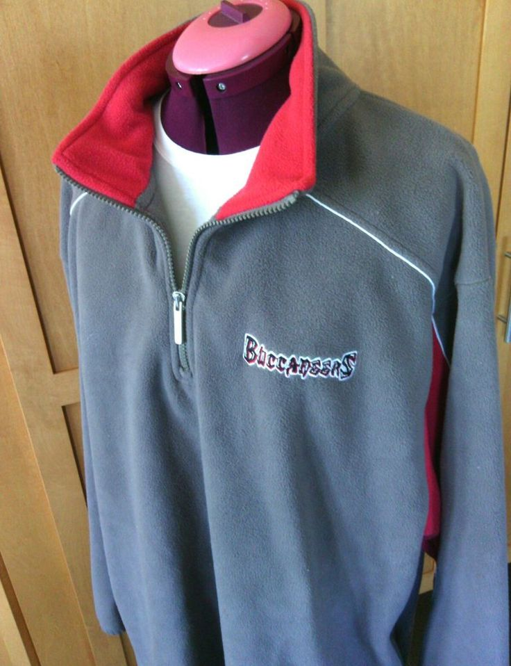 Reebok NFL Team Apparel Football Sweatshirt Pullover Buccaneers Size 2 XL Gray  | eBay