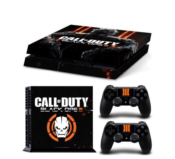 Call Of Duty Black Ops 3 Decal Stickers For PlayStation PS4 Console - *FREE SHIPPING*