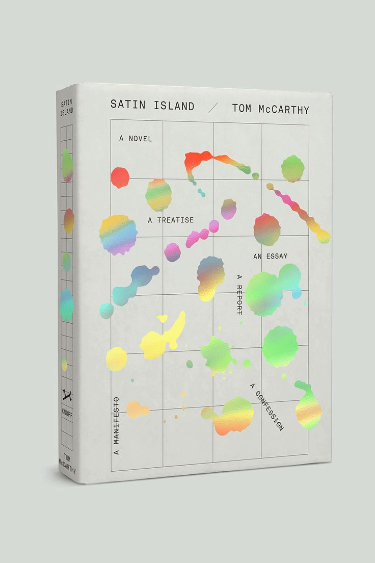 satin island / tom mccarthy design by peter mendelsund