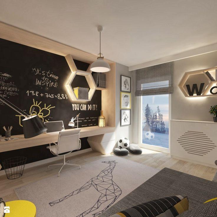 Wystrój wnętrz - Pokój dziecka - pomysły na aranżacje. Projekty, które stanowią prawdziwe inspiracje dla każdego, dla kogo liczy się dobry design, oryginalny styl i nieprzeciętne rozwiązania w nowoczesnym projektowaniu i dekorowaniu wnętrz. Obejrzyj zdjęcia! - strona: 21