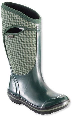 Women's Bogs Plimsoll Insulated Boots, Tall Houndstooth. Rain boot fashions. I'm an affiliate marketer. When you click on a link or buy from the retailer, I earn a commission.