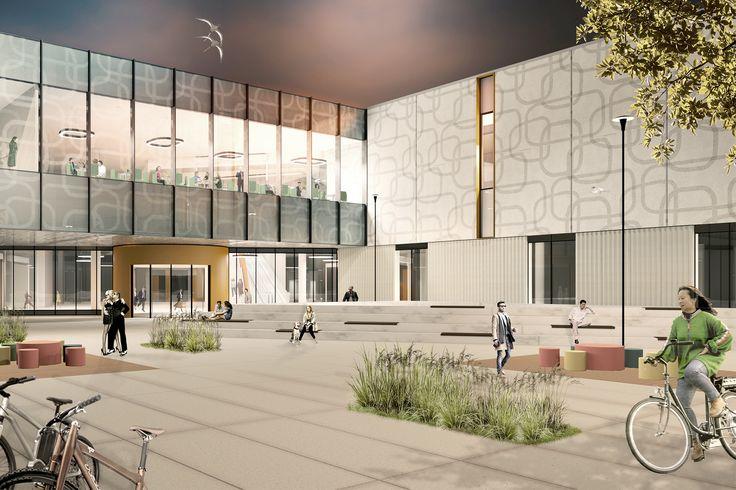 Jærhagen, utvidelse kjøpesenter (2017) – ARC arkitekter