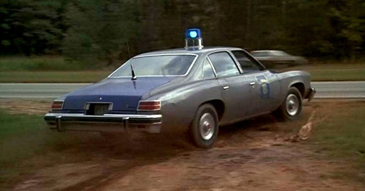 Pontiac Police car from