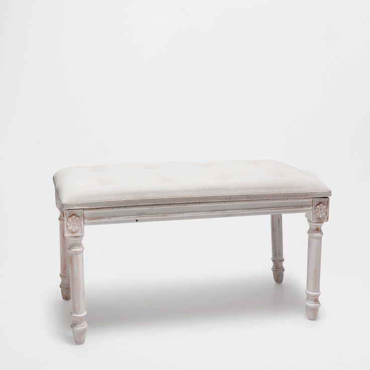 Upholstered Wooden Bench Occasional Furniture Bedroom Zara Home United Kingdom Zara Home
