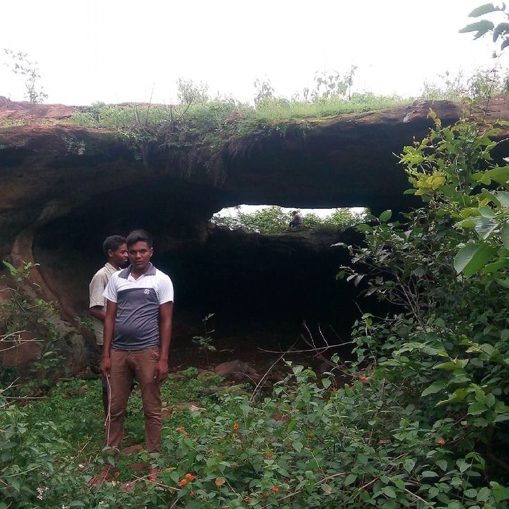 Cave of tubed