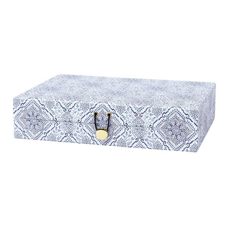 Förvaringsbox Carmen, 31x23x7 cm, Grafit - Heminredning - Hemtextil - Hemtex
