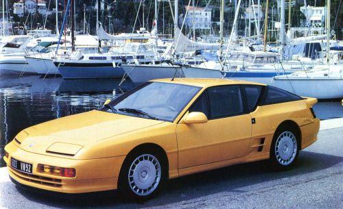 "frenchcurious: "" Alpine Renault A 610 turbo (V6 - 2975cm3 - 250 ch. - 265 Km/h) - Automobile Classiques N° 42 août / septembre 1991. """