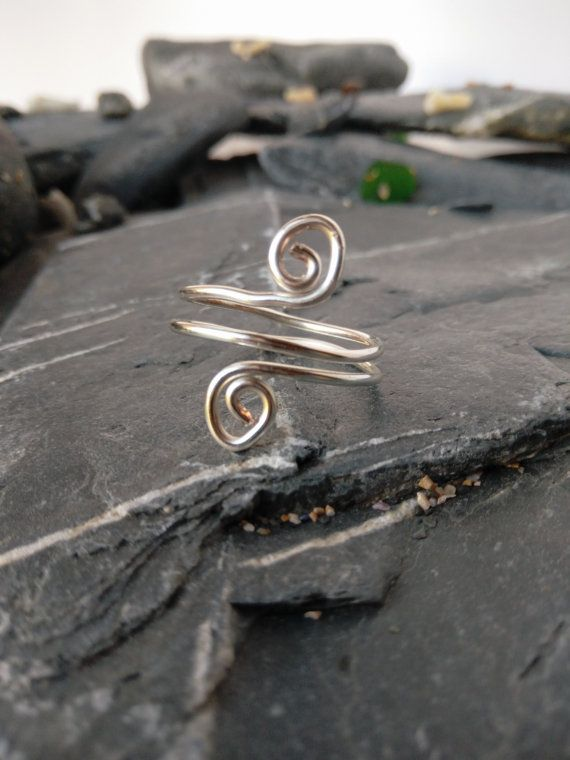 Hey, I found this really awesome Etsy listing at https://www.etsy.com/uk/listing/384427876/double-wrapped-swirl-silver-plated-wire