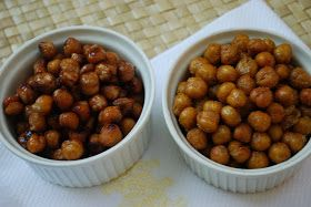 Cheese Please: Roasted Chickpeas Two Ways