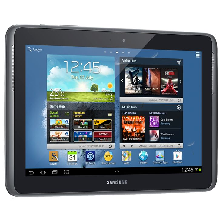 "Samsung N8000 Note 10.1"" 16GB 3G Gray EU"