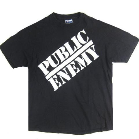 Vintage Public Enemy 1988 T-shirt