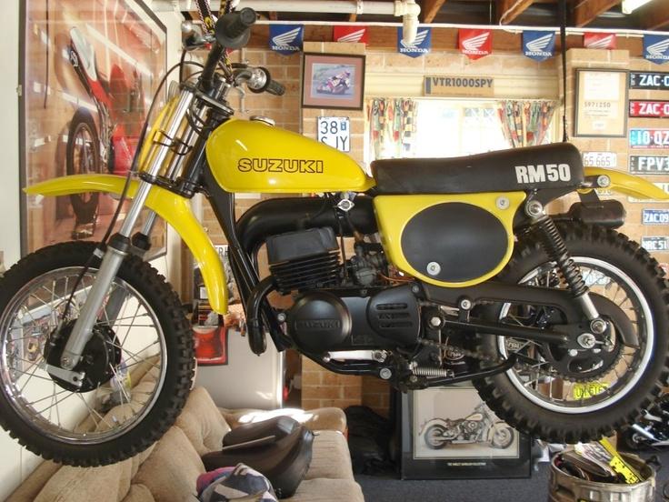 Vintage Suzuki Rm
