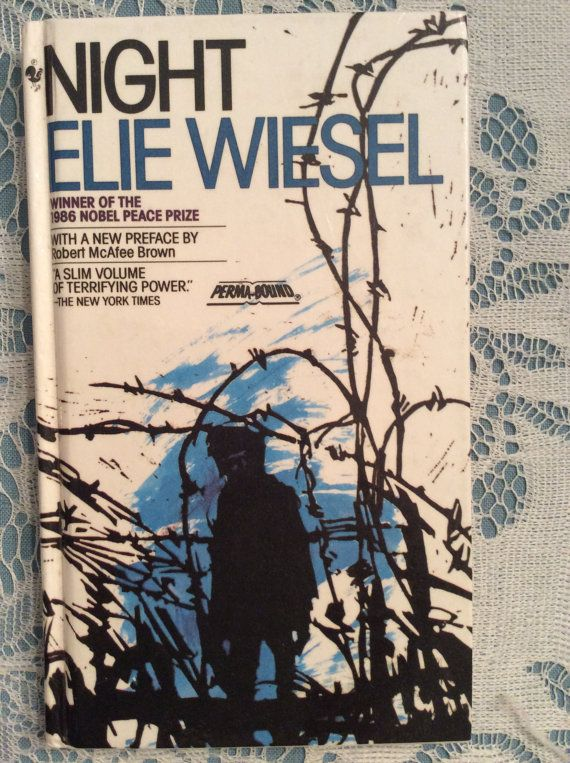 10 best vintage books images on pinterest antique books vintage elie wiesels night hardcover 25th anniversary edition published 1986 fandeluxe Image collections