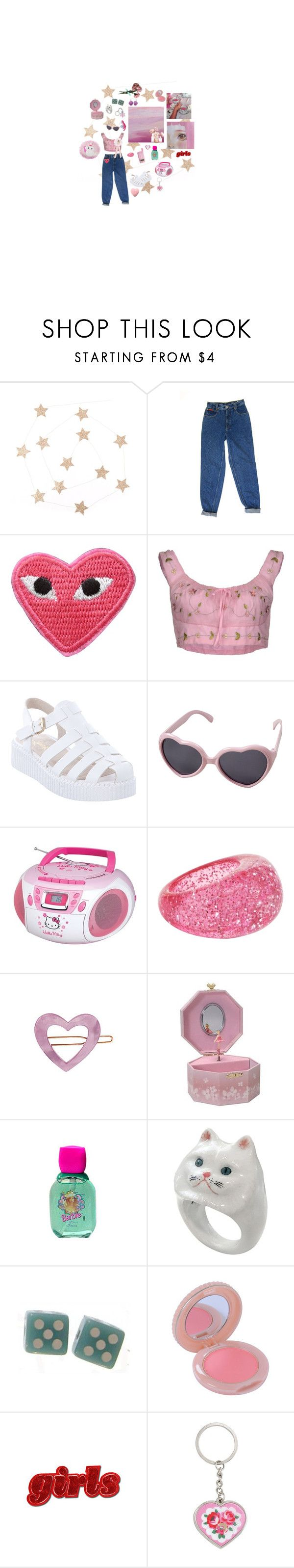 """yes sir"" by asongaboutbeingsad ❤ liked on Polyvore featuring Ermanno Scervino, Lipstik, Hello Kitty, Aéropostale, France Luxe, Mattel, Nach Bijoux, Paul & Joe, Cath Kidston and Disney"
