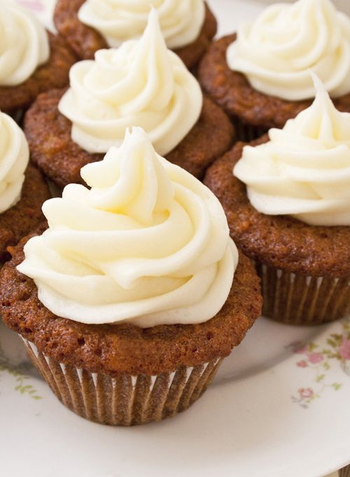 CARROT CUPCAKES (from 150 Best Cupcake Recipes)