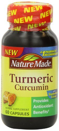 Nature Made Tumeric Capsules 500 Mg, 60 Count by Nature Made